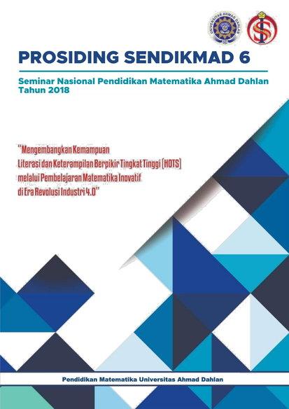 Cover Prosiding Sendikmad 2018